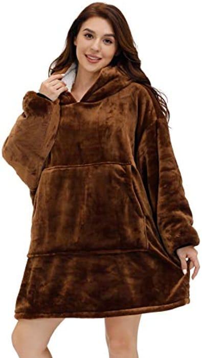 Prime Deal! Pro Maison Oversized Blanket Hoodie
