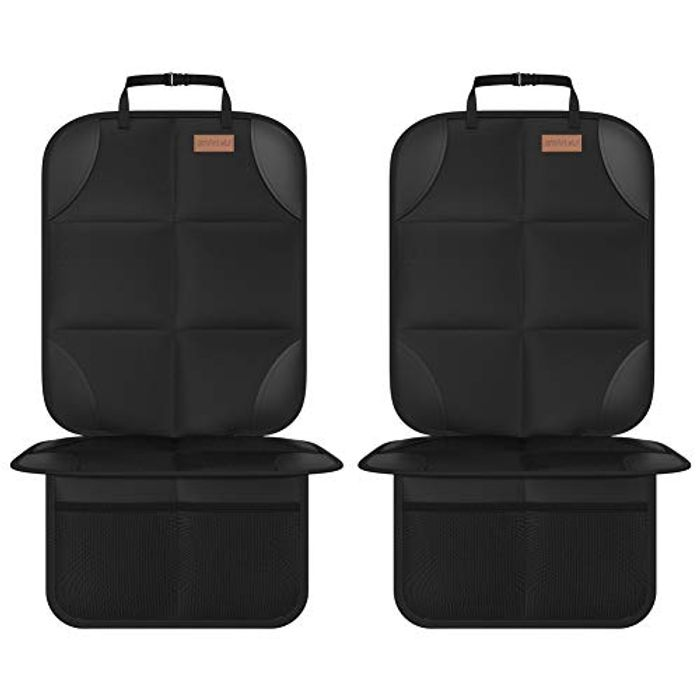 2 Pack Kids Car Seat Protectors for Child Seats - Only £14.95!