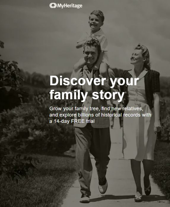 Grow Your Family Tree With A My Heritage 14 Day Free Trial