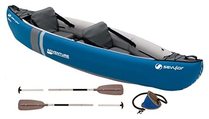 Sevylor Unisex Adventure plus 2-3 Man Canadian Canoe