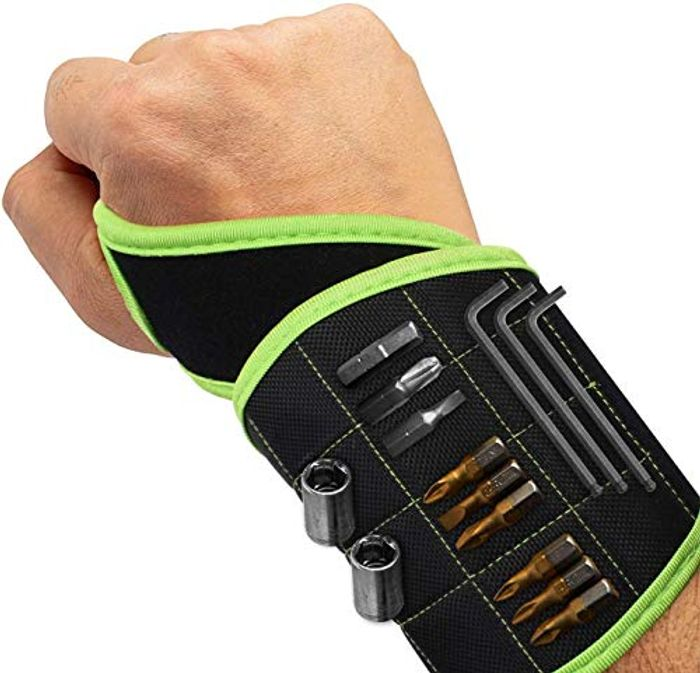 Magnetic Wristband with 16 Strong Magnets 50% voucher