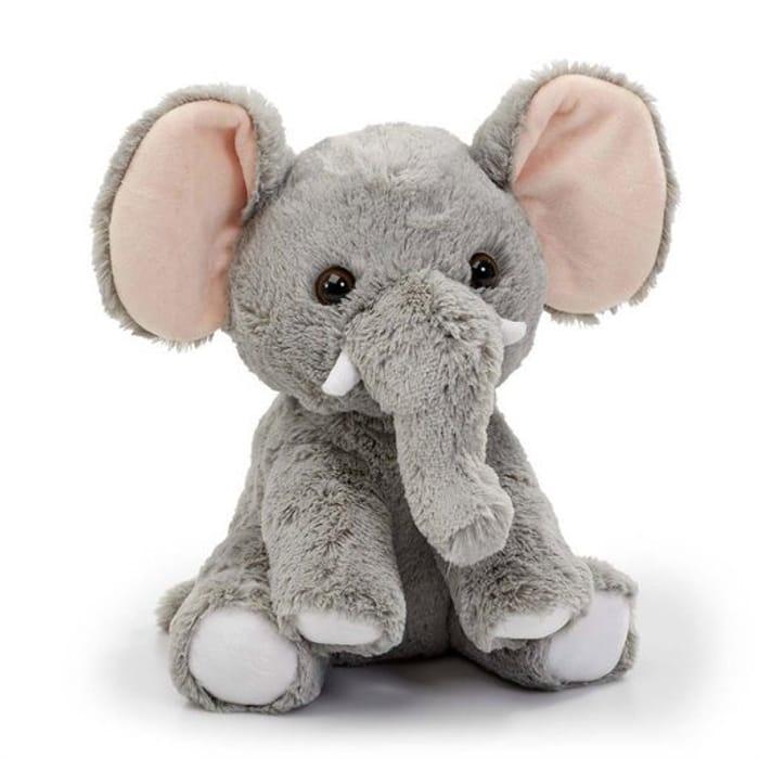 Snuggle Buddies 34cm Animal Plush Toy - Elephant