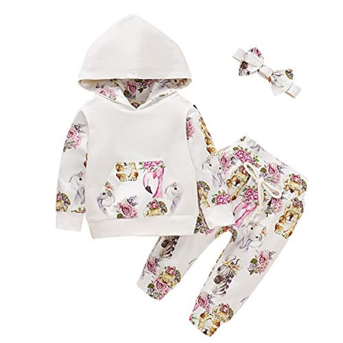 Super Cute Hooded Tracksuit ( 3 Styles ) Sizes 0/24 Months
