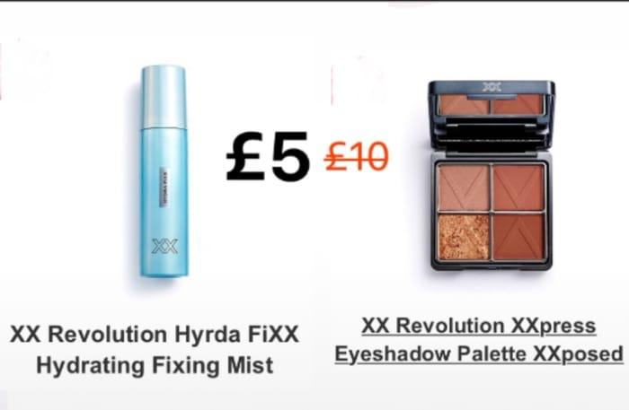 XX Revolution Hyrda FiXX Hydrating Fixing Mist/ XXpress Eyeshadow Palette & More