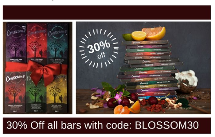 30% off All Chocolate Bars