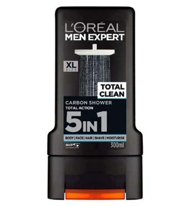 L'Oreal Men Expert Total Clean Shower Gel - Only £1.49!