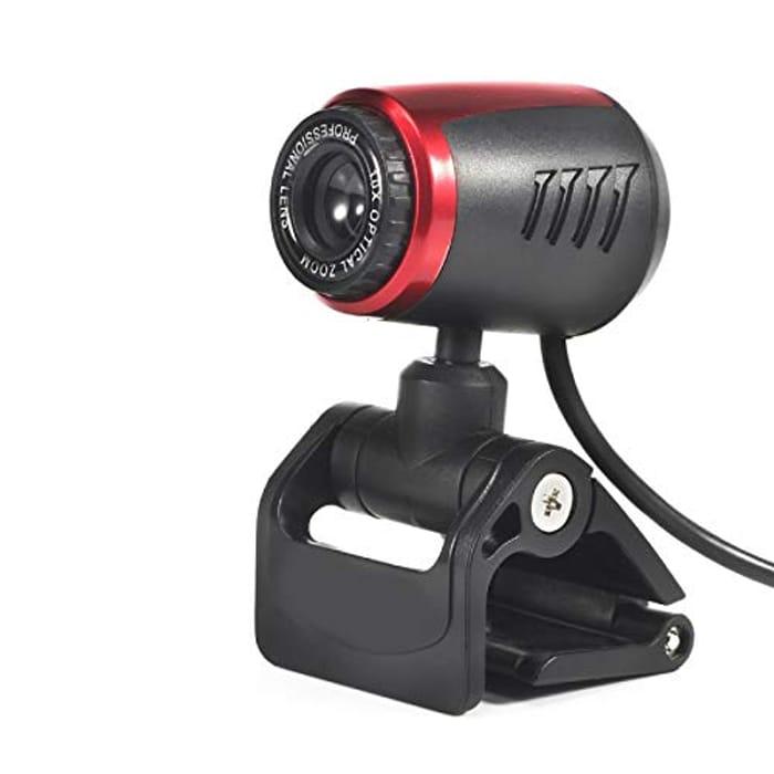 Josopa HD USB Desktop Webcam with Flexible Rotatable Clip - Only £6.78!