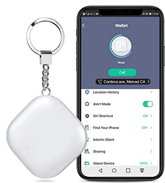 DEAL STACK - Wireless Anti-Lost Smart Item Tracker Key Finder + £2 Coupon