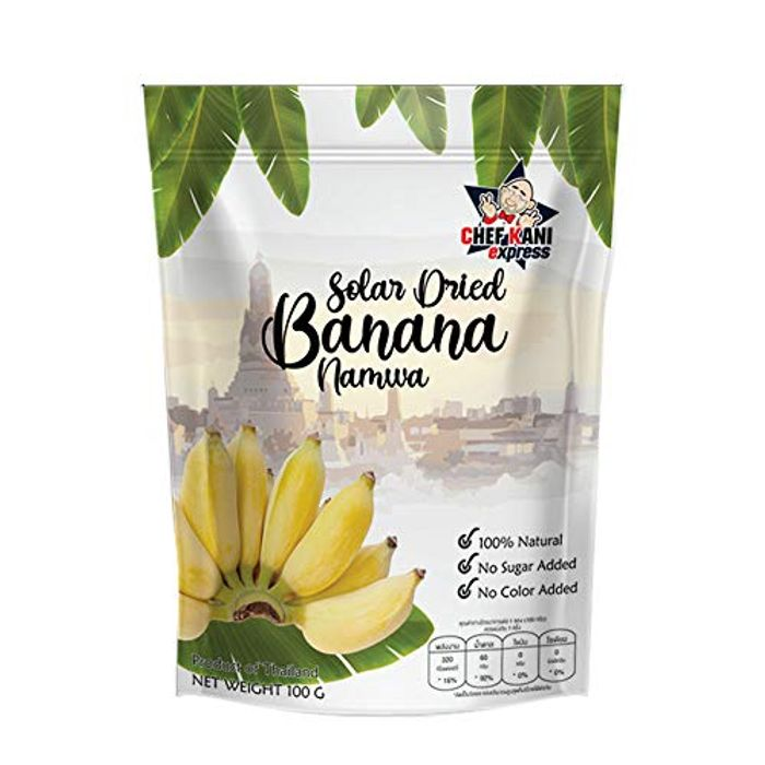Chef-Kani Healthy and Guiltless Solar Dried Banana with £6 off Coupon