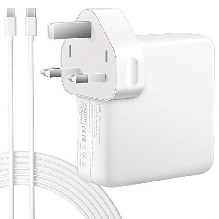 LIGHTNING DEAL - 96W USB C Power Adapter Charger with 2M USB Cable