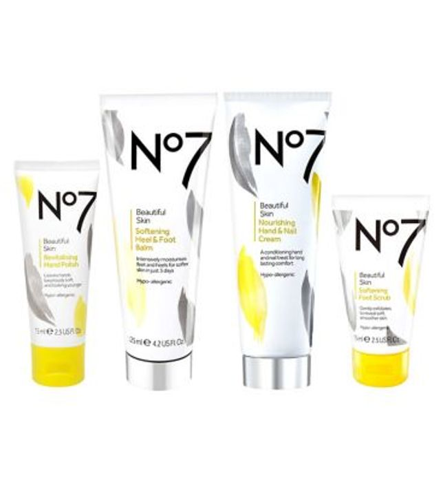 No7 Beautiful Skin Hand and Foot Collection worth £36