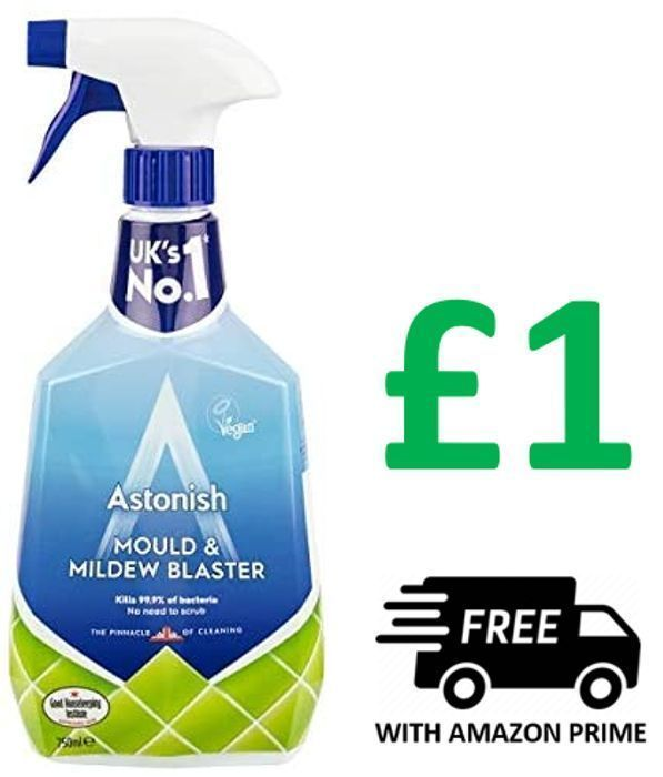 CHEAP! Astonish Mould & Mildew Remover - 750ml