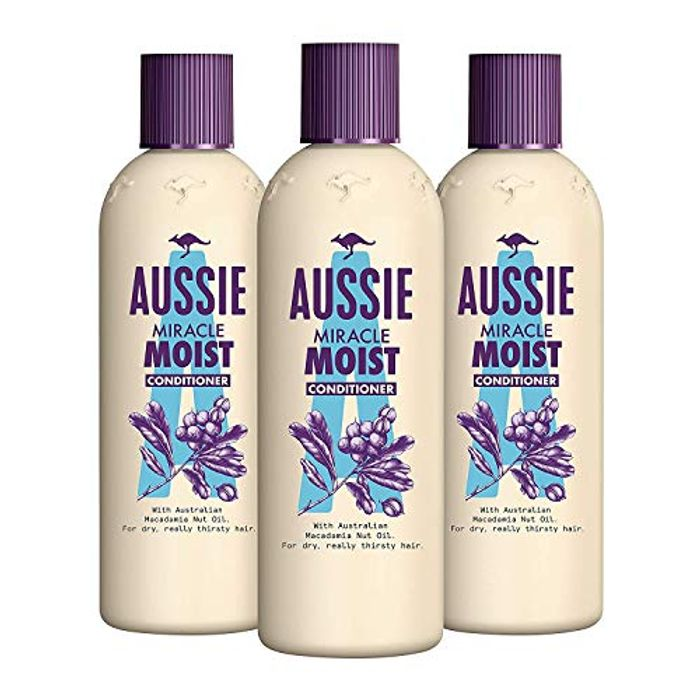 BEST EVER PRICE Aussie Miracle Moist Conditioner - 250 Ml, (Pack of 3)