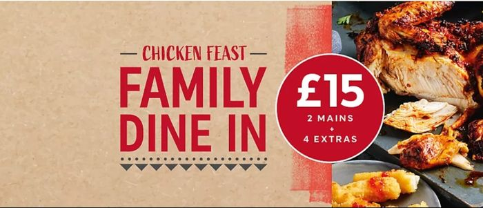 M&S Chicken Feast Dine in for 4