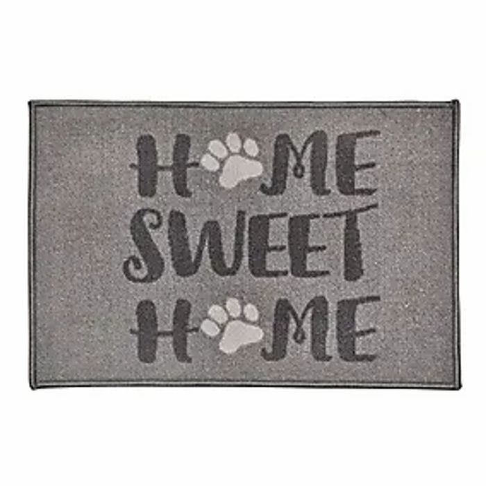 Home Sweet Home Paws Washable Doormat Click & Collect