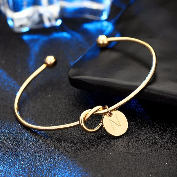 Free Letter Heart Bracelet( Just Pay Shipping)