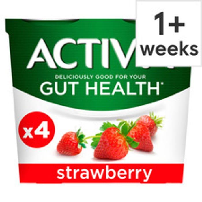 Activia Yogurt 4 X 115g (All Varieties)