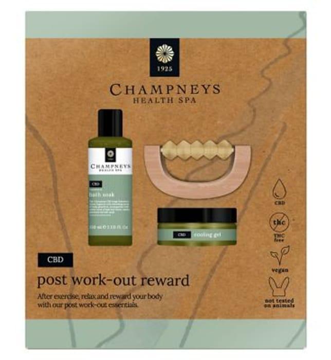 Champneys CBD Post Work-out Reward HALF PRICE