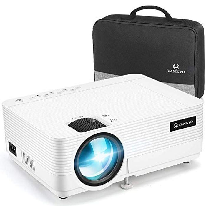 VANKYO Leisure 720P Projector, Full HD 1080P Supported and 250 Display