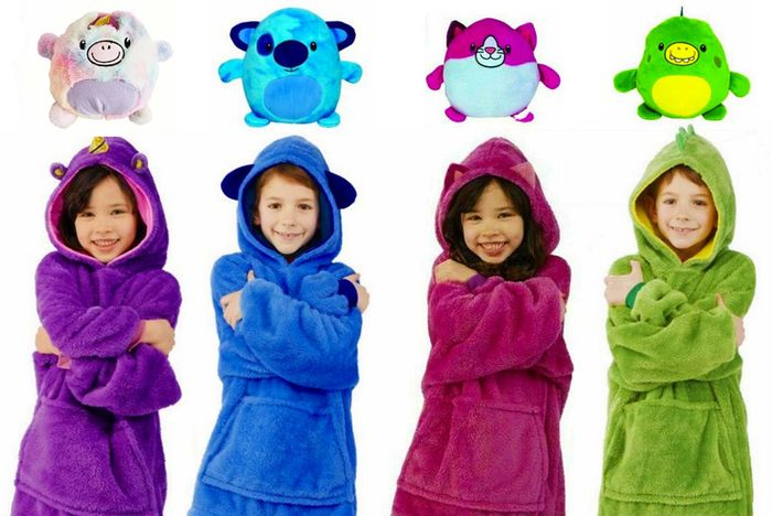 Cuddly Pet Snuggle Hoodie - Zips into a Soft Toy!