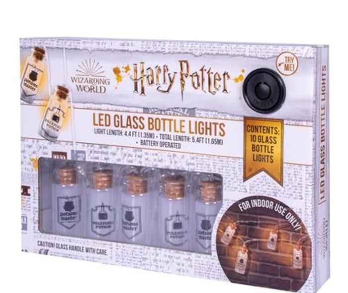 Harry Potter LED Potion Glass Bottle Lights - Free Click & Collect
