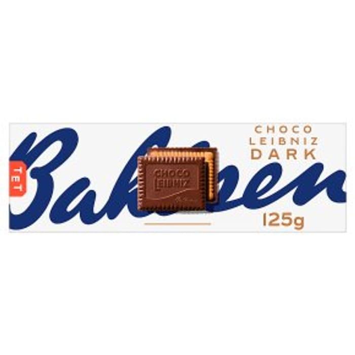 Bahlsen Choco Leibniz Dark125g