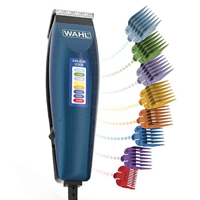 WAHL Hair Clippers for Men, Colour Pro Corded Clipper, Head Shaver