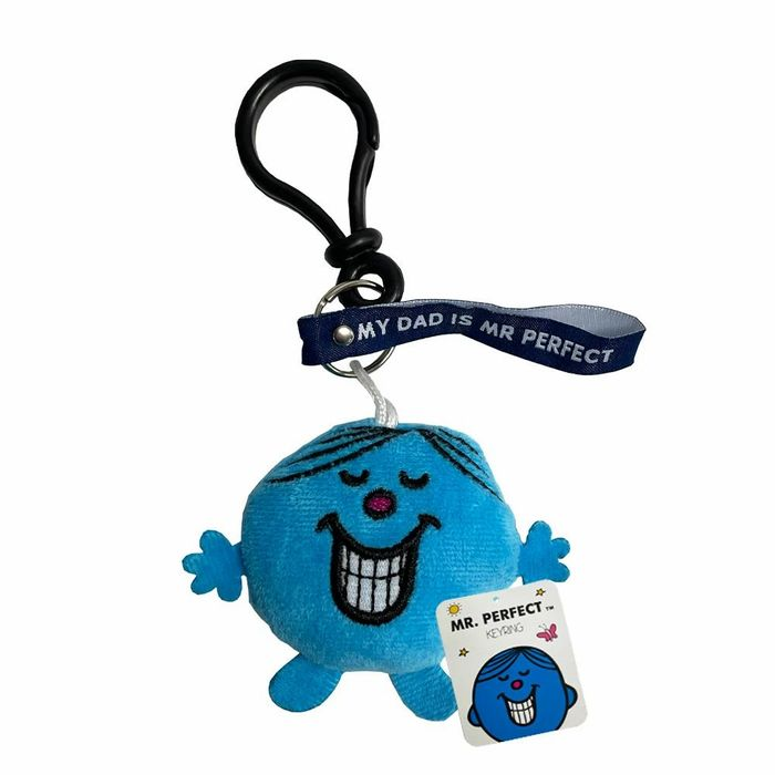 Father Day Gift Idea - My Dad is Mr Perfect Keyring (Other Designs Also)