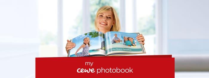 Spend & save on CEWE PHOTOBOOK - save up to £25