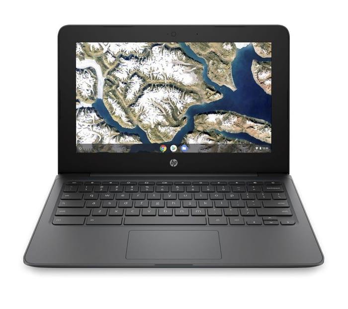 """HP 11a 11.6"""" Chromebook - Intel Celeron, 16 GB eMMC, Grey"""