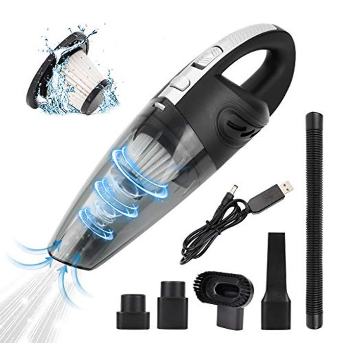 FREESOO Cordless Car Vacuum Cleaner