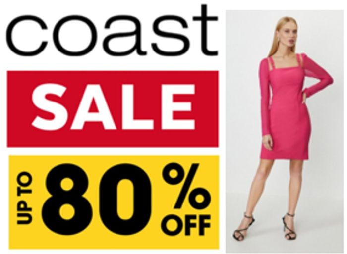 Coast Sale - up to 80% OFF + FREE DELIVERY
