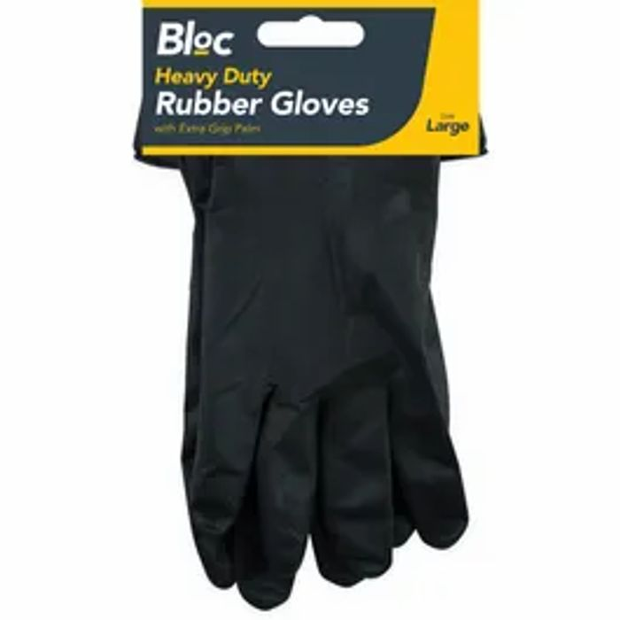 Bloc Heavy Duty DIY Rubber Gloves