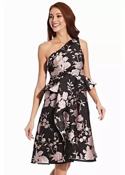 Adrianna Papell One Shoulder Dress