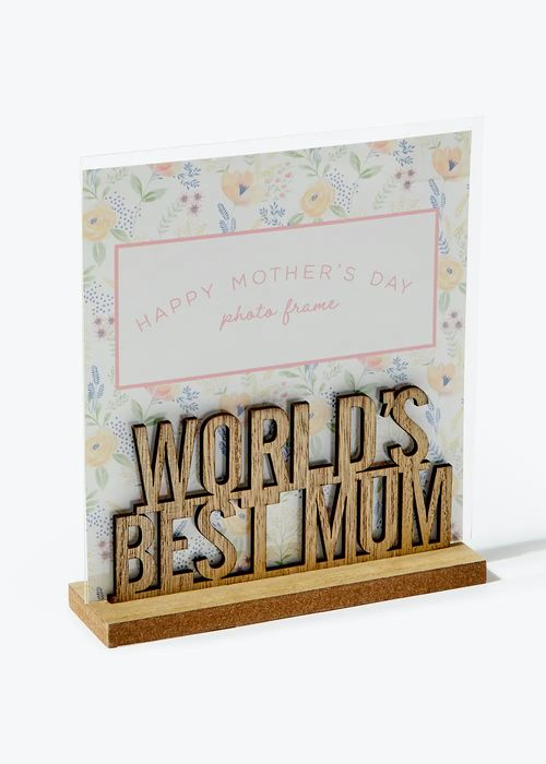 Mum Wooden Photo Holder