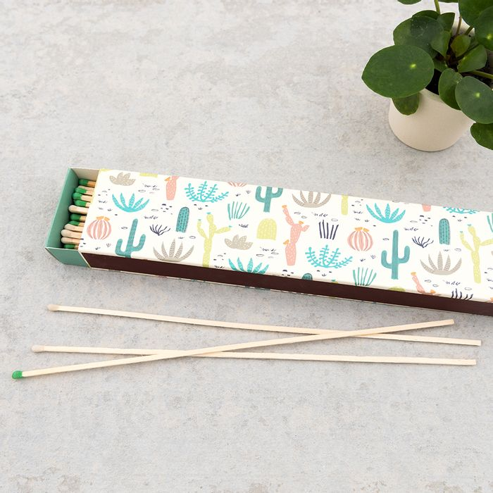 Desert in Bloom Box of Extra Long Safety Matches