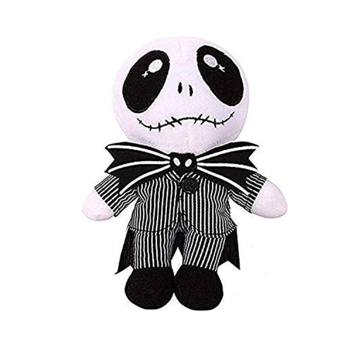 "Dewanxin Nightmare before Christmas Plush Stuffed Jack Skellington 8"" Plush Doll"