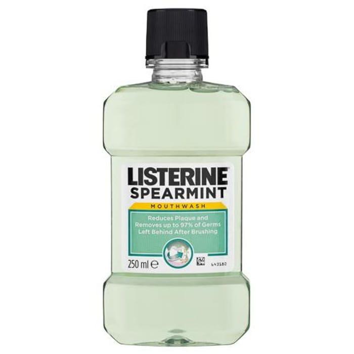 Listerine Spearmint Mouthwash 250ml
