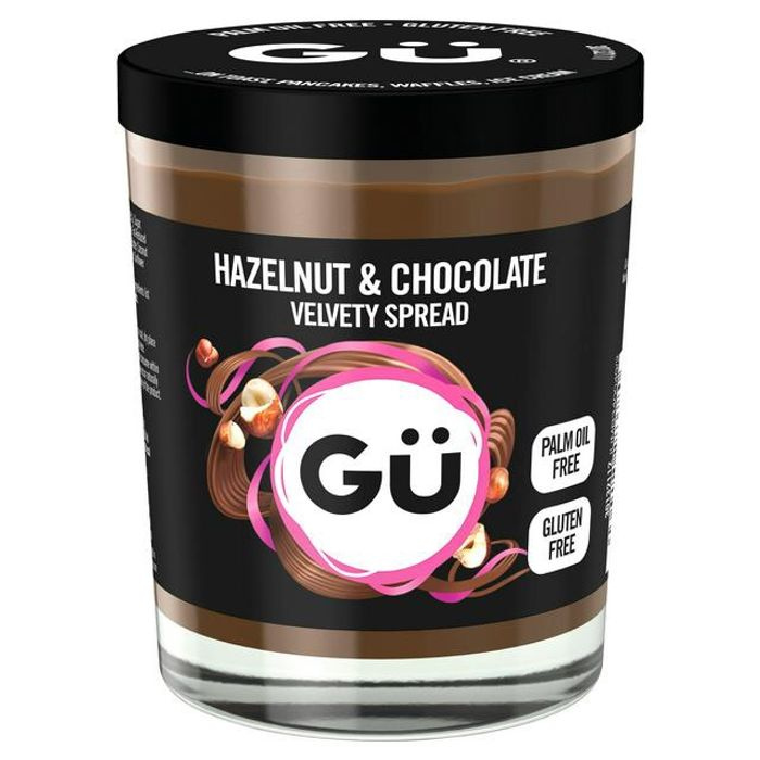 Gu Hazelnut &Chocolate Velvety Spread Palm Oil Free