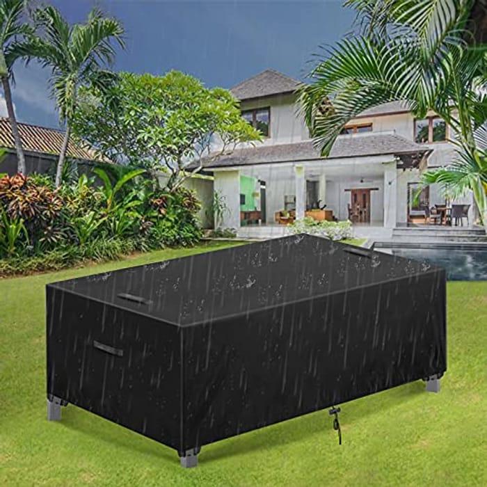 DEAL STACK - ESSORT Waterproof Garden Patio Rattan Furniture Covers + 25% Coupon