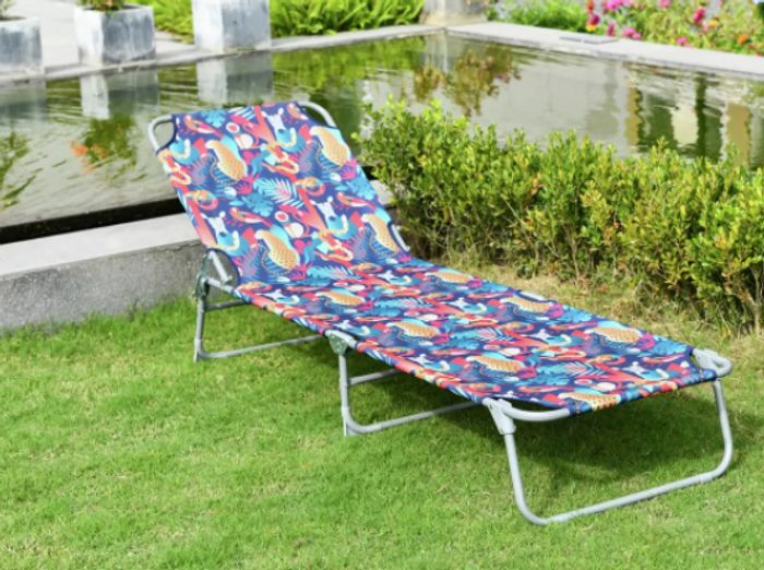 Argos Habitat Folding Sun Lounger Only £28 & Free C&C