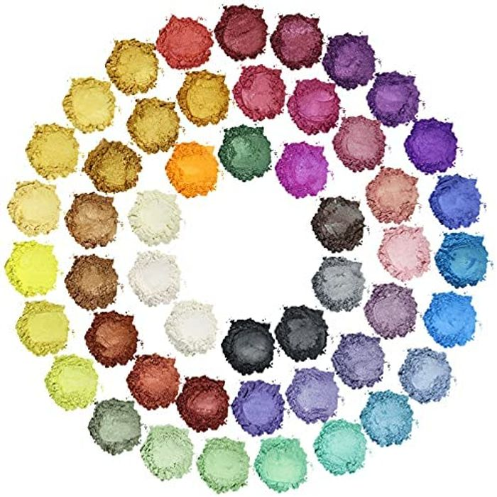 Mica Powder - 50 Colors Epoxy Resin Pigment