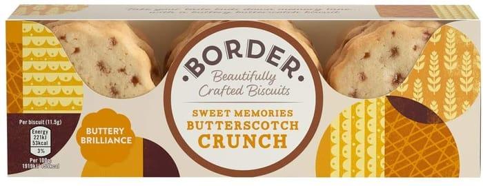 Border Biscuits Sweet Memories Butterscotch Crunch 135g