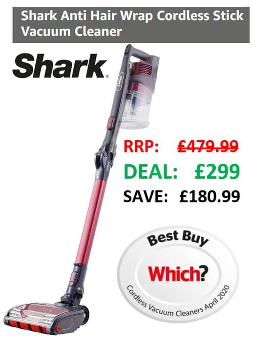 SHARK CORDLESS Vacuum Cleaner | Anti Hair Wrap | Pet Hair | Twin Battery