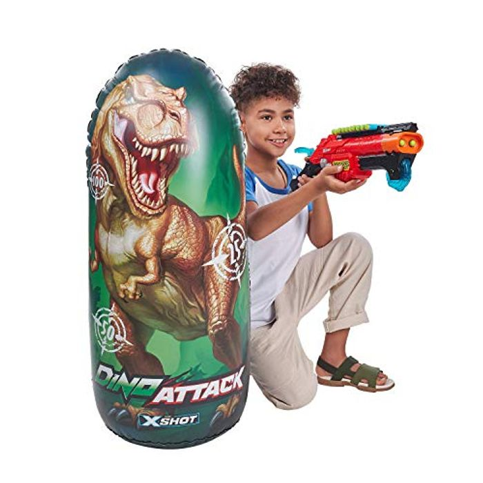 ZURU X-SHOT 4862 Dino Attack Inflatable Target - Only £3.91!
