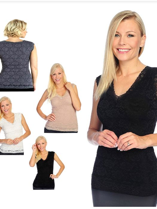 Set of 4 Slim N Lift Shapewear Tops Free Delivery