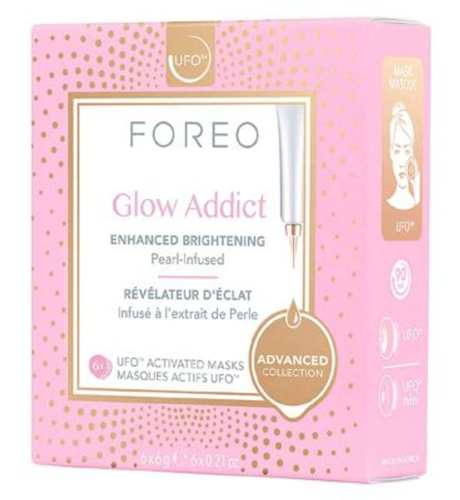 Foreo Glow Addict Brightening UFO Activated Face Mask x 6