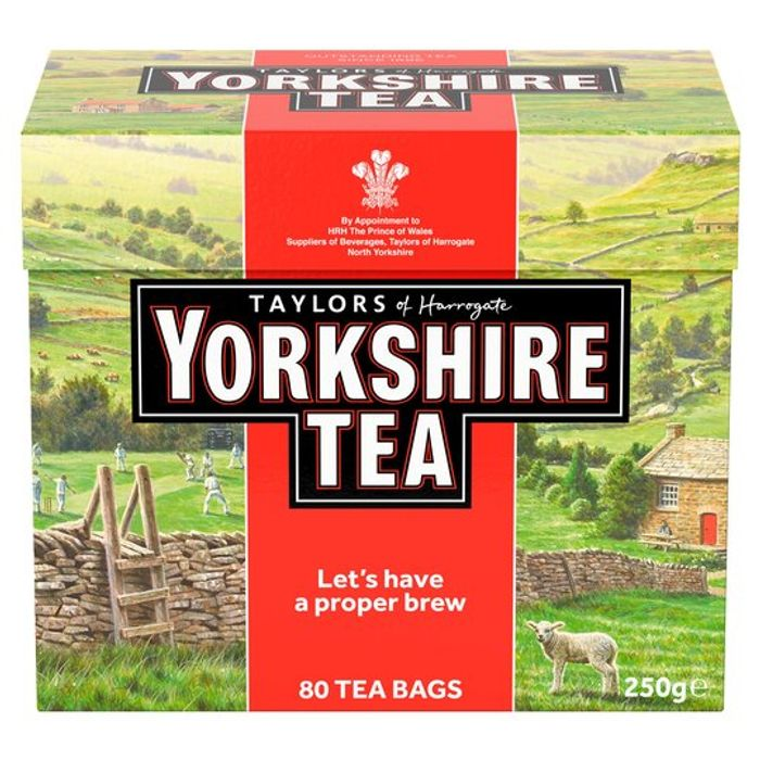 Yorkshire 80 Teabags 250G - Only £2!
