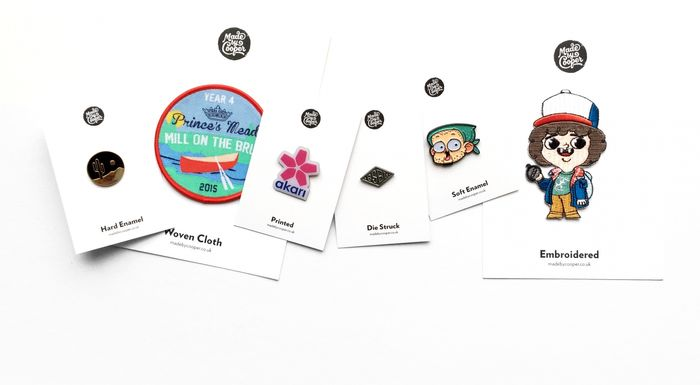 Free Badge Samples from Made by Cooper
