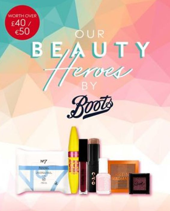 Free Beauty Box worth £40 When You Spend £20 on Selected Products